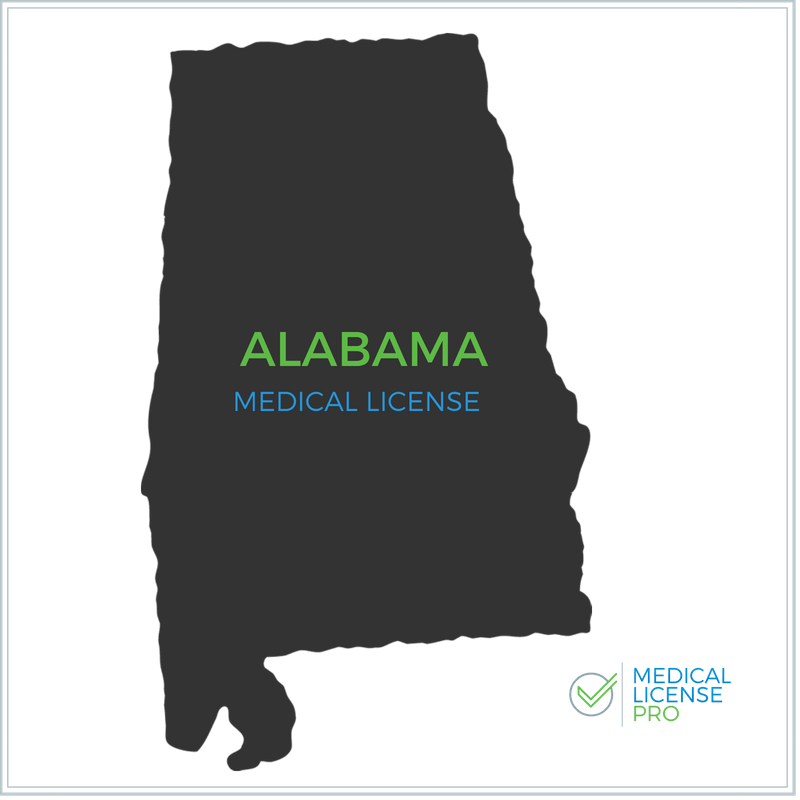 Alabama Medical License