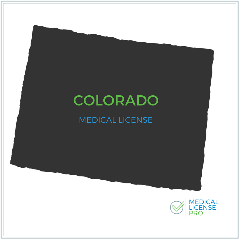 Colorado Medical License