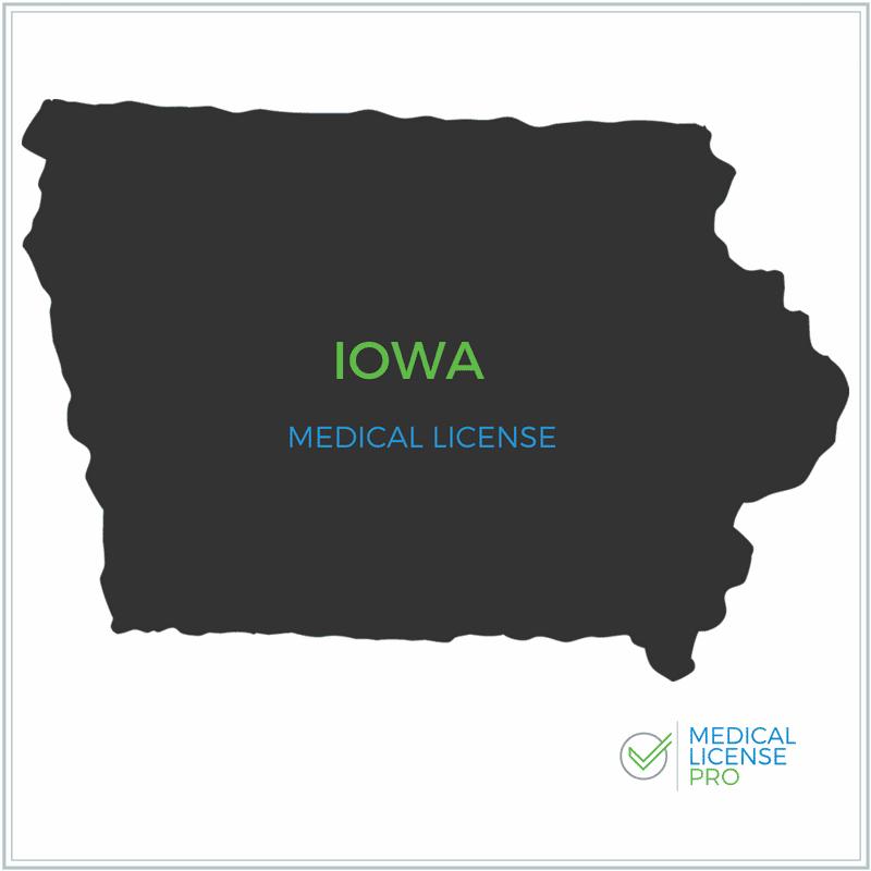 Iowa Medical License