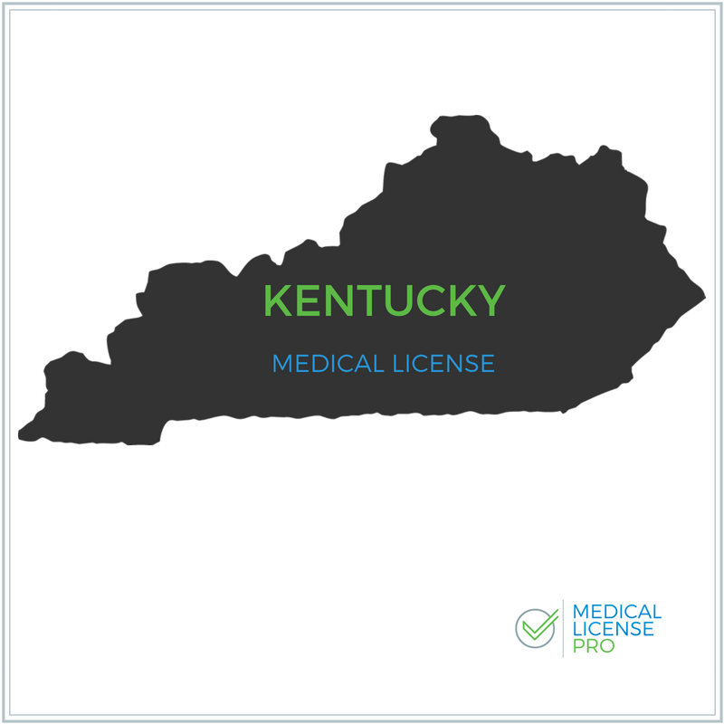 Kentucky Medical License