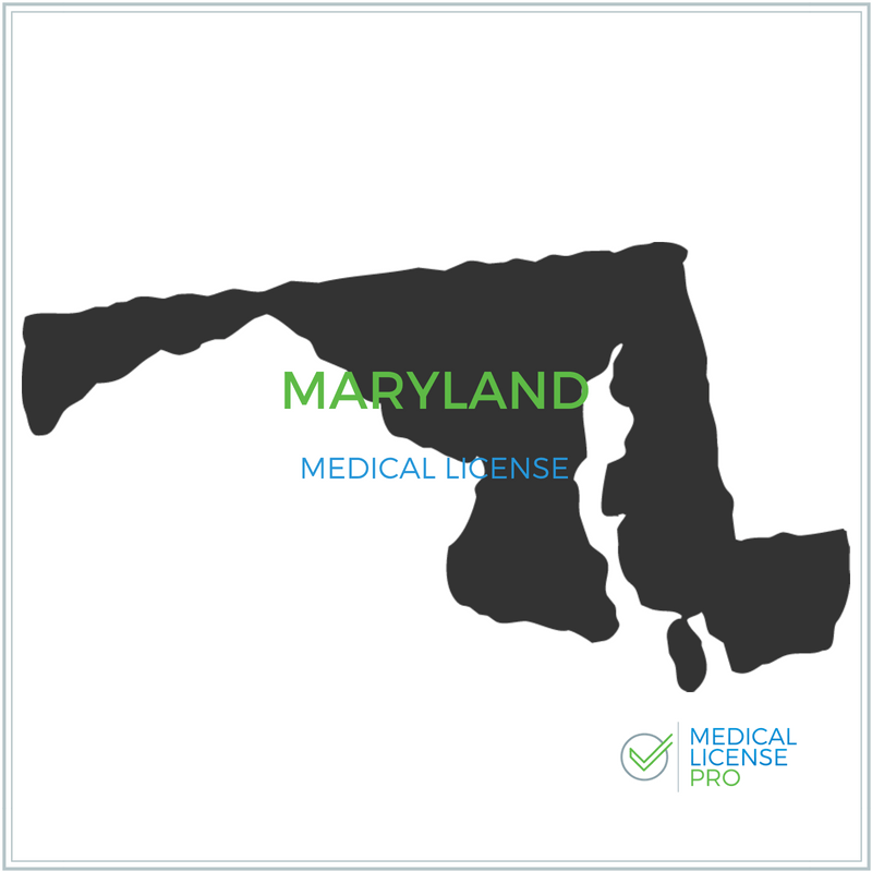 Maryland Medical License