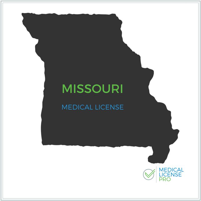 Missouri State Medical License