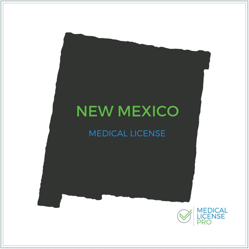 New Mexico State Medical License