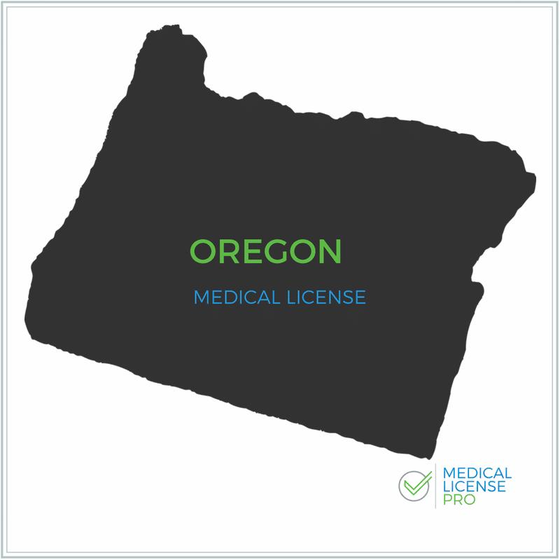 Oregon Medical License