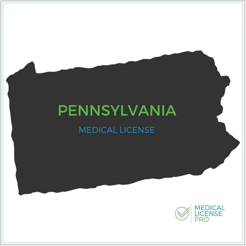 Pennsylvania Medical License