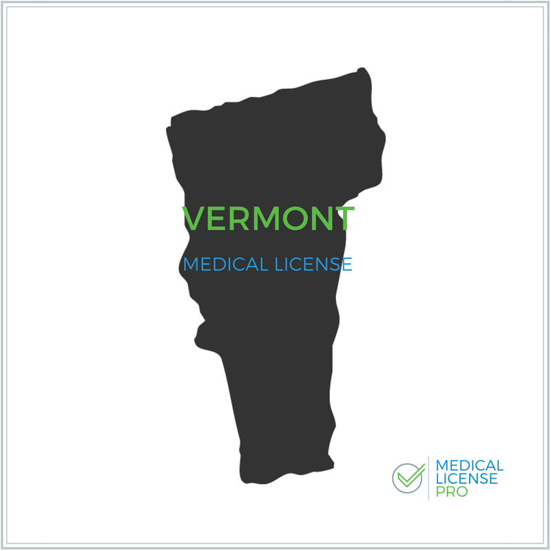 Vermont Medical License