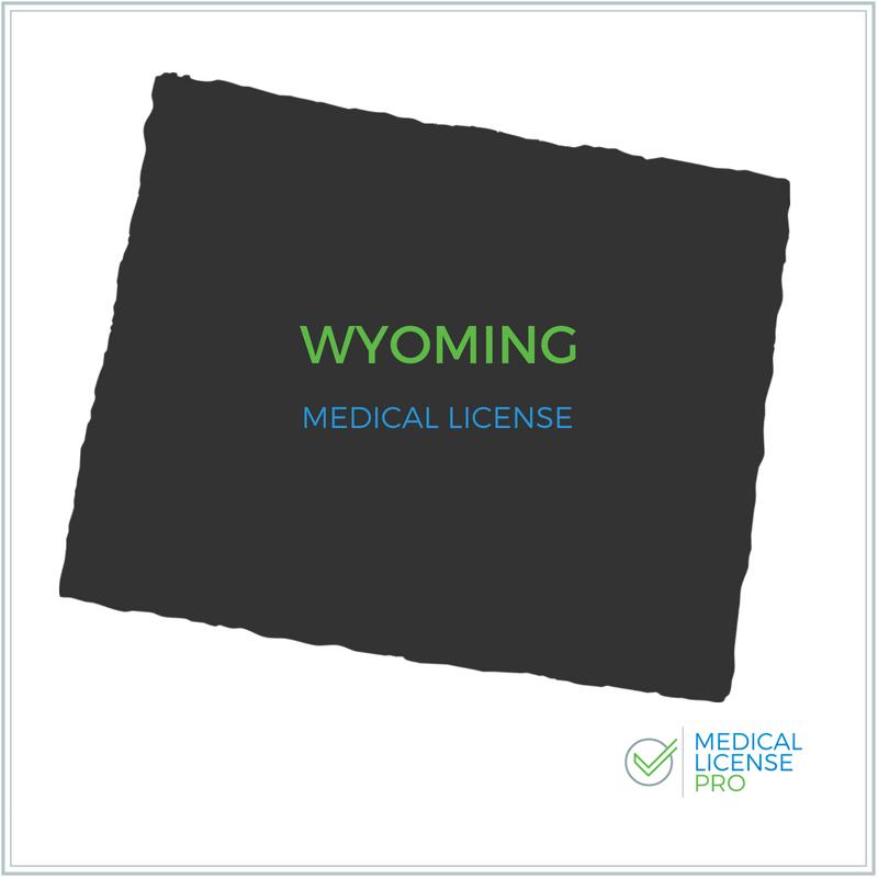 Wyoming State Medical License